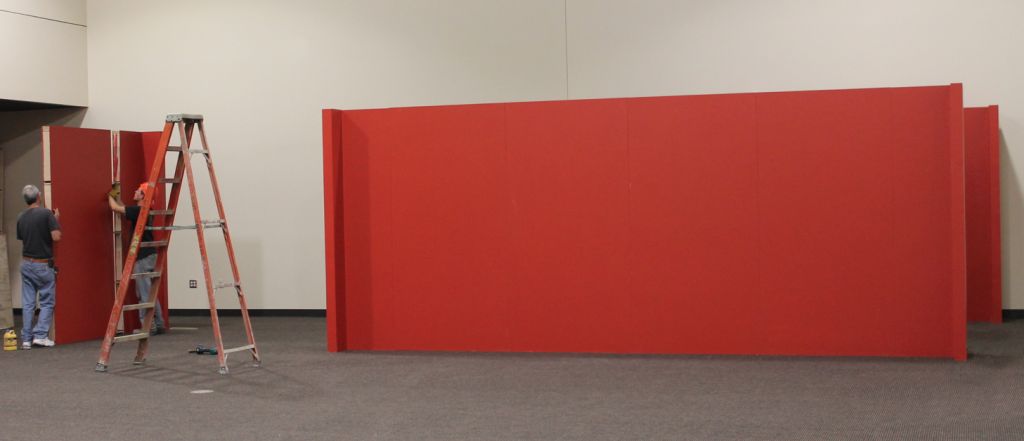 Portable Walls For Creating Temporary Rooms