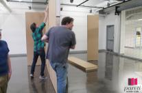 Kent State University – portable gallery walls