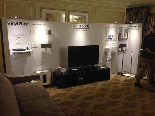 Heavy duty trade show displays