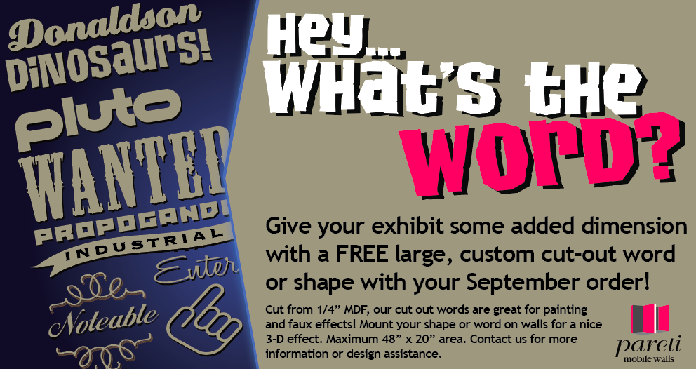 September special free wood cut shapes or words