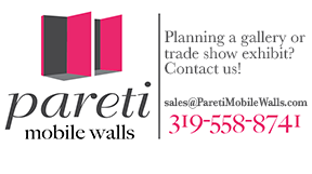 Portable walls, heavy duty mobile walls, trade show walls that look like actual walls, for museums, trade shows, offices, office partitions and commercial spaces.