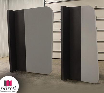 Modular curved profile walls